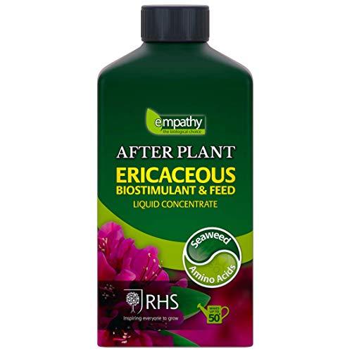 Plantworks Ltd SWER1L Empathy RHS Endorsed Ericaceous Liquid Seaweed Fertiliser 1L