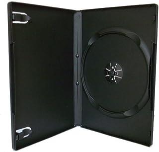 100 cajas individuales negras para DVD - 14 mm -