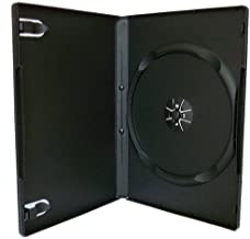 100 negro cajas individuales para DVD - 14 mm - By DragonTrading