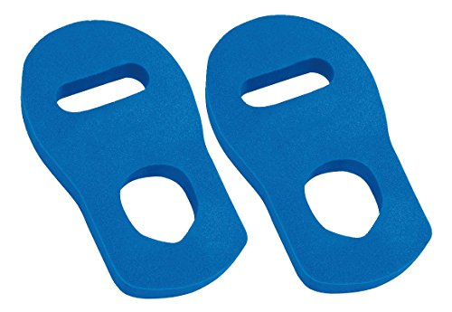 Aqua Kickbox Handschuhe blau Wasser Aquagym Aquatraining Wassersport Gr. XL