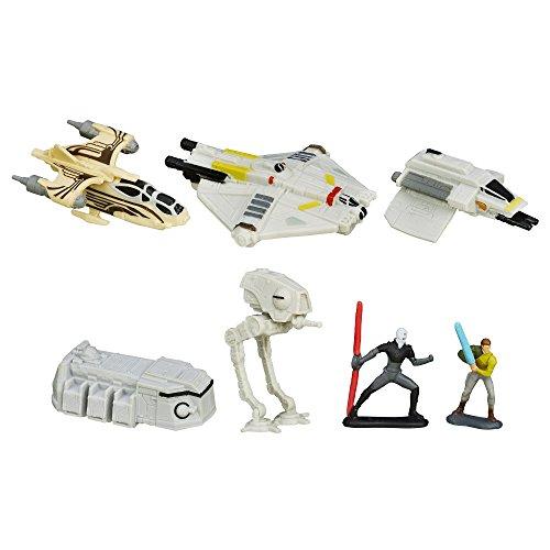 Star Wars Rebeldes Micro máquinas Pack de vehículo Rebelión Rising