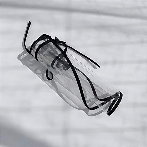 Sombrero de Cubo deprotecciónpara Madre e Hijos, Sombrero Plano, Sombrero para el Sol, Gorra deHip Hop de Verano,Sombrero dePescador para Mujer-Masks Black