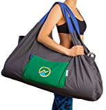 JoYnWell Full-Zip Extra Large Yoga Mat Bag with Sewn-in Mat Holder Straps