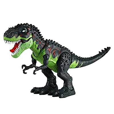 Tuko Jurassic World Dinosaur Toys LED Light Up Walking and Roaring Realistic t rex Dinosaur Toys for 3-12 Years Old Boys and Girls from Tuko
