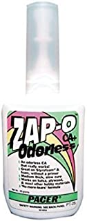 (Ship from USA) Pacer Glue Zap-O Foam Safe CA Glue, .7 oz PAAPT25