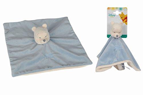 Disney Peluche Doudou Winnie Tonal Bleu, 5875950