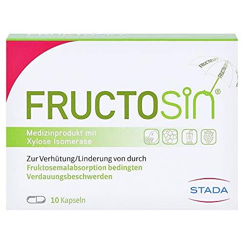 FRUCTOSIN Medizinprodukt mit Xylose Isomerase, 10 Kapseln