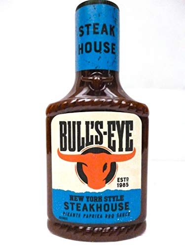Bull's Eye New York Style Steakhouse Barbecue Sauce / Pikante Paprika BBQ Sauce , 300 ml