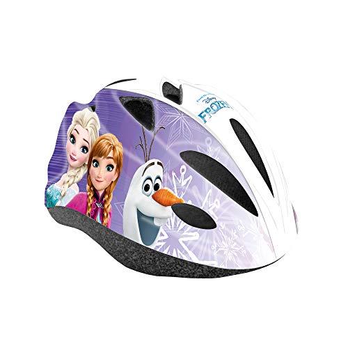 Disney Frozen Fahrradhelm für Mädchen, weiß, Größe M (52-56cm)
