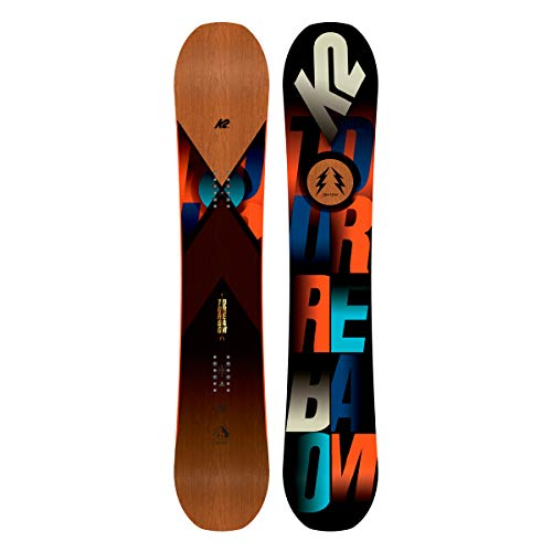 Herren Freeride Snowboard K2 Turbo Dream 157W 2018 Snowboard