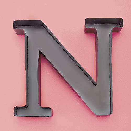 GetSet2Save 'N' Metal Monogram Wine Cork Holder, 12-Inch