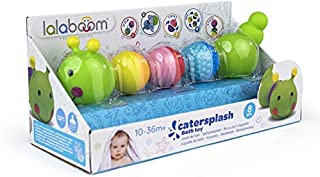 Lalaboom - Bath Toy - Caterpillar and Beads to Assemble - Preschool Toy - Montessori Learning Toy for Babies and Children ...