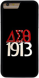 Delta Sigma Theta Phone Case for iPhone 7/8 Plus, DST-019, Sorority Cell Phone Personality Cover for Women