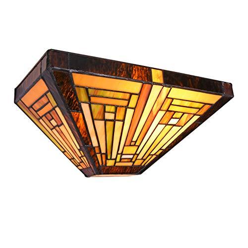 lámpara aplique tiffany fabricante Capulina