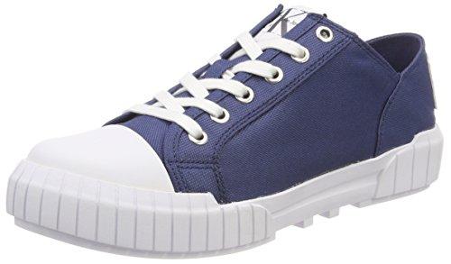 Calvin Klein Jeans Damen Bianca Nylon Sneaker, Blau (Stb 000), 40 EU