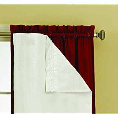 Eclipse 10332054X092WHI Thermaliner Blackout Panel Pair, 54-Inch by 92-Inch, White