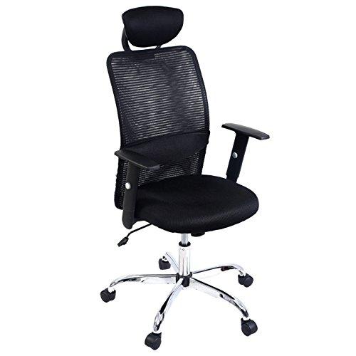 Modern Ergonomic Mesh High Back Executive 360 Degree Swivel Computer Desk Task Office Chair Black #735