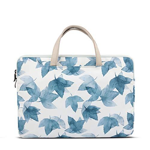 SENFEISM Bolsa de hombro impermeable ordenador portátil maletín 11 12 13 14 pulgadas portátil bolsa de mano para el caso mujeres estilo literario