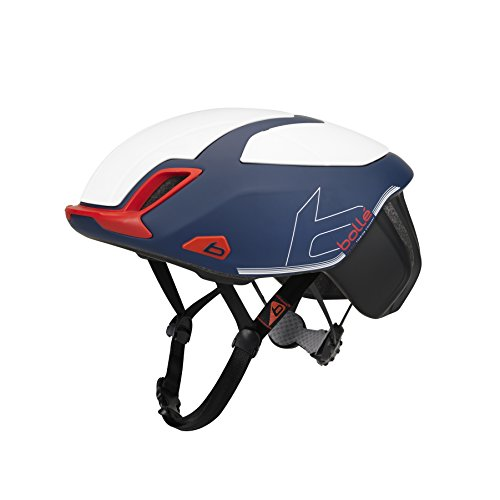 bollé Erwachsene The One Premium Cycling Helmets, Navy Red White Matte, Large 58-62 cm