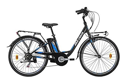 Bicicleta eléctrica modelo 2021 Atala E-Way 26 6 V 360 BLK/L.Azul MT...