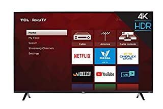"TCL 55S425-CA 4K Ultra HD Smart LED Television (2019), 55"" (B07DXRQHRJ) 