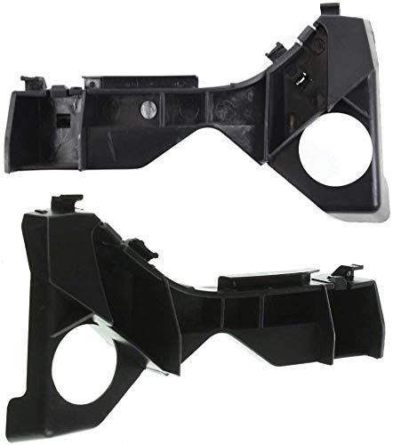 I-Match Auto Parts Driver and Passenger Side Front Bumper Cover Reinforcement Bracket Replacement For 03-08 Toyota Corolla Excludes XRS TO1066142 TO1067142 5211602061 5211502061 Set of 2