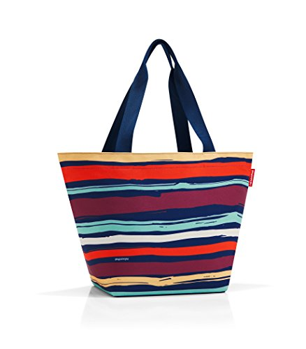 reisenthel shopper M artist stripes Maße: 51 x 30,5 x 26 cm / Volumen: 15 l