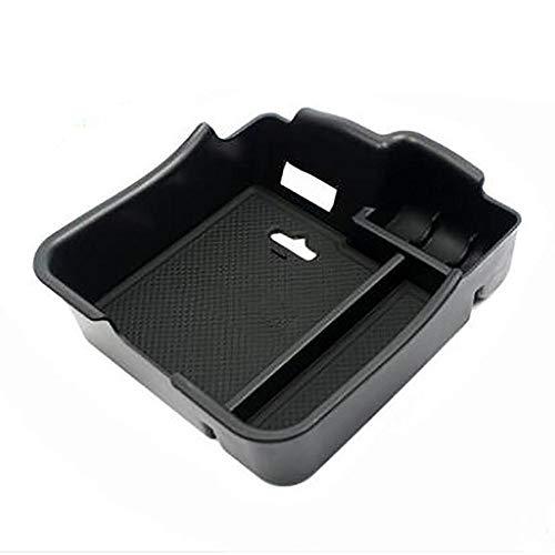 Reposabrazos Caja de coches de la consola del apoyabrazos de la consola del apoyador de la bandeja de almacenamiento secundario Contenedor de la caja de guantes para Porsche Panamera / Cayenne Auto Ro
