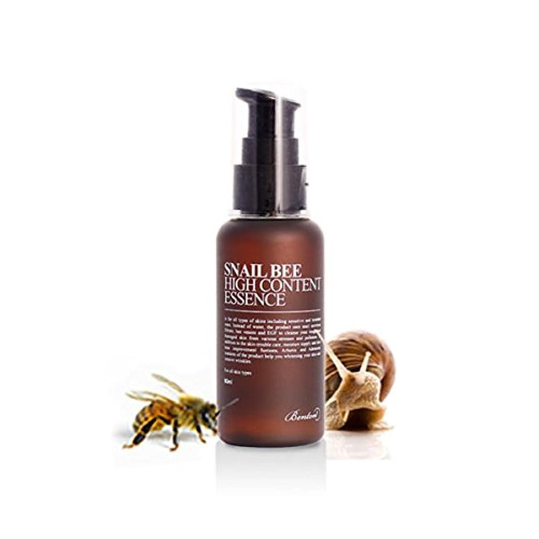 大理石ハイランド写真を撮る[ベントン] Benton カタツムリ蜂ハイコンテンツエッセンス Snail Bee High Content Essence 60ml [並行輸入品]