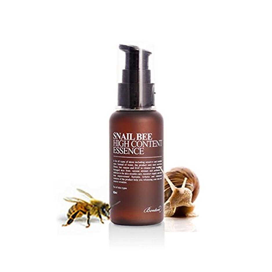 直感破壊する麦芽[ベントン] Benton カタツムリ蜂ハイコンテンツエッセンス Snail Bee High Content Essence 60ml [並行輸入品]