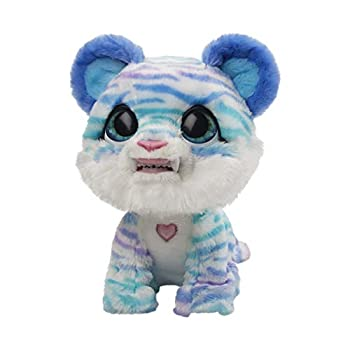 furReal North The Sabertooth Kitty Interactive Plush Pet Toy 35+ Sound & Motion Combinations Ages 4 and Up