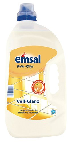 emsal Voll-Glanz Bodenpflege - 1x 5 Liter
