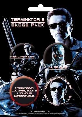 Gb Posters Terminator 2 badgepack: Amazon.es: Coche y moto