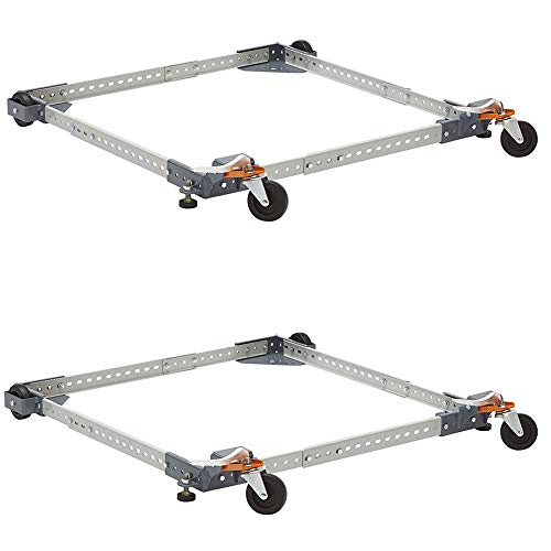 Bora Portamate Power Tool Adjustable Mobile Base with 400 lb Capacity (2 Pack)