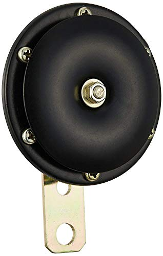 Uno Minda 820003 ACDC 12V Mid Tone Horn for Escorts Rajdoot (76mm Dia)