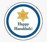 Happy Hanukkah Gift Tag Labels 2