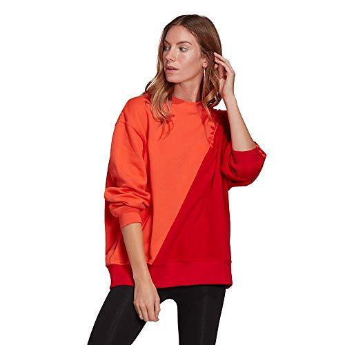 adidas Bluza damska, czerwony, 38