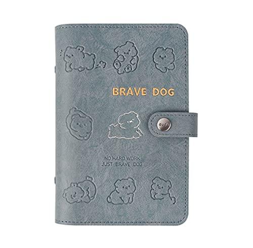 Notebook Traveler Agenda Diary Custodia Protettiva In Pelle Pu Personale Cancelleria Per Blocco Note A Fogli Mobili A5: 175 * 235Mm
