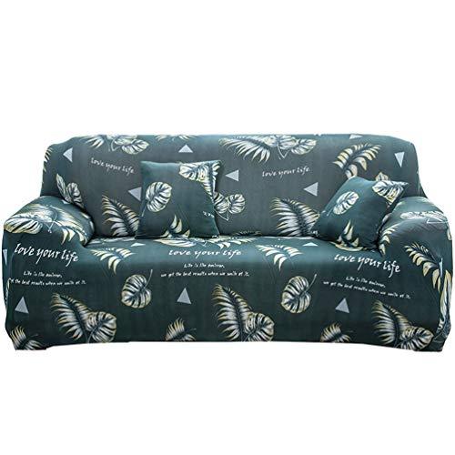 GladiolusA 1-Stück Elastische Sofahusse Sofabezug Stretch Couch Husse Sofaüberwurf Sesselbezug Stil 4 3 Sitzer für Sofalänge 190-230cm