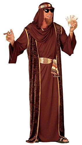 Jeque Árabe En 3Colores Señor Disfraz