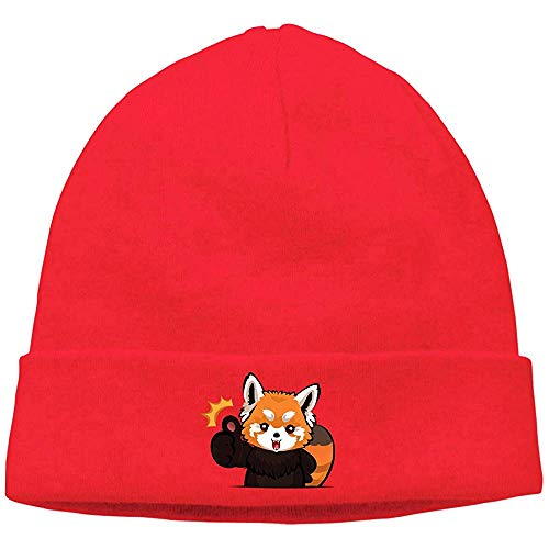 Linupdate-Store Clipart rood unisex mode herfst / winter cap, casual hoed, warme hoed