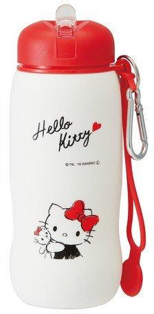 Skater Sanrio Hello Kitty pliable en silicone Bouteille 500 ml Slbt1