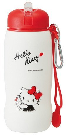 Skater Sanrio Hello Kitty SLBT1 - Botella plegable de silicona (500 ml)