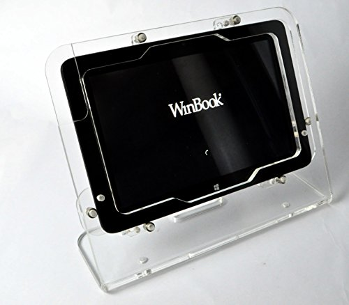 TABcare Compatible Winbook TW100 TW101 Clear Desktop Security Stand...