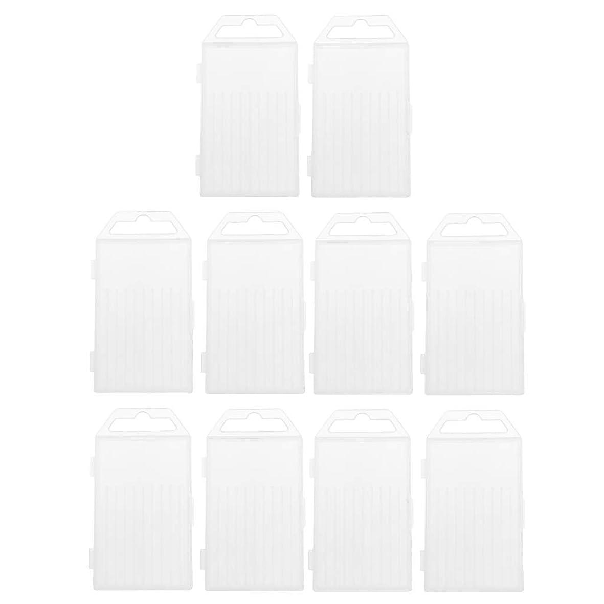 不規則性排除逆さまにsharprepublic ドリルボックス ツールボックス 収納ボックス 収納容器パッケージ 多機能 透明 便利 約10個入り