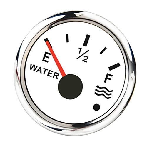H HILABEE 240 33/0 190 Ohm Universal Wasserstandsanzeige Mit Hintergrundbeleuchtung, Weiß