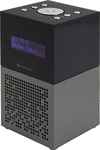 Soundmaster UR210AN Radio Uhr Digital Anthrazit, Schwarz - Radios (Uhr, Digital, DAB+,FM,UKW, LCD, 3,5 mm, Anthrazit, Schwarz)