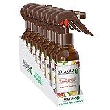 Airwick Botanica - Ambientador en spray para ambientes, 8 unidades, aroma de menta marroquí y pomelo rosa, fragancia natural, spray de 236 ml