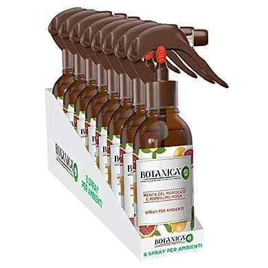 Foto di Airwick Botanica, Profumatore Per Ambienti, Spray Per Ambienti, Confezione Da 8 Spray, Fragranza Menta Del Marocco E Pompelmo Rosa, Fragranza Naturale, Spray Da 236 Ml
