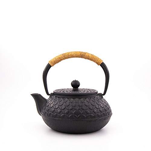TEZEN Hochwertige Gusseiserne Teekanne